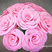 Свадебный салон ручной работы. Ярмарка Мастеров - ручная работа Розовые Розы. Handmade.