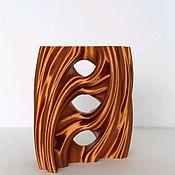 Вазы ручной работы. Ярмарка Мастеров - ручная работа Интерьерная ваза. Handmade.