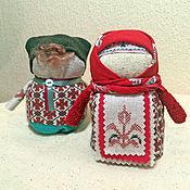 Куклы и игрушки ручной работы. Ярмарка Мастеров - ручная работа Крупеничка и Богач. Handmade.