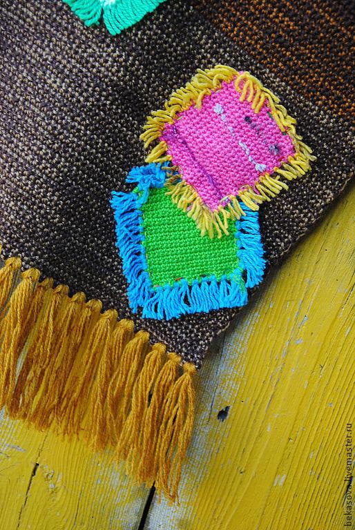 """Текстиль, ковры ручной работы. Ярмарка Мастеров - ручная работа. Купить Коврик """"И снова о заплатках"""". Handmade. Коврик, счастье"""