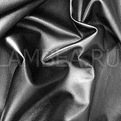 Материалы для творчества handmade. Livemaster - original item Genuine leather. Sheepskin. Black. 0,6-0,9 mm thick. Handmade.