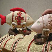 Куклы и игрушки ручной работы. Ярмарка Мастеров - ручная работа Рыбка Лада. Handmade.
