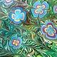 """Шали, палантины ручной работы. Ярмарка Мастеров - ручная работа. Купить Платок """" Цветы весны"""". Handmade. Разноцветный"""
