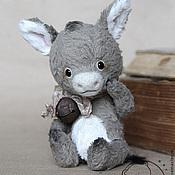 Куклы и игрушки ручной работы. Ярмарка Мастеров - ручная работа Ослик Лу. Handmade.