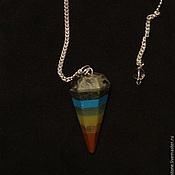 Фен-шуй и эзотерика handmade. Livemaster - original item Chakra Gemstone Ball Pendulum Chakra Pendant. Handmade.