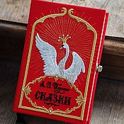 Сумки и аксессуары handmade. Livemaster - original item Clutch-book A.. Pushkin`s