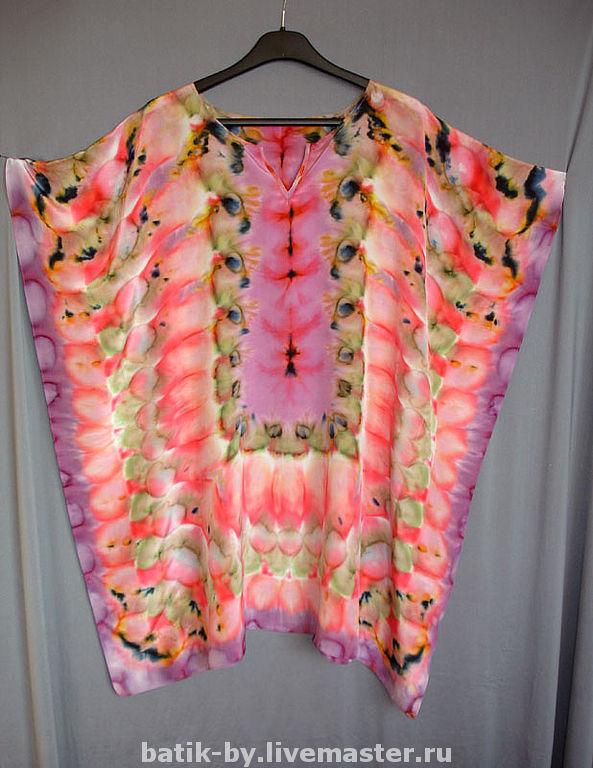 Блузки шелковые больших размеров
