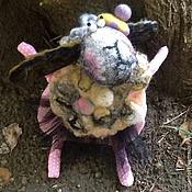 Куклы и игрушки ручной работы. Ярмарка Мастеров - ручная работа Овечки от Овчаровой)). Handmade.