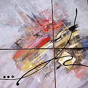 Картины и панно ручной работы. Ярмарка Мастеров - ручная работа модульная картина Вдохновение. Handmade.