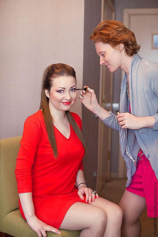Платья ручной работы. Ярмарка Мастеров - ручная работа. Купить Red casual dress. Handmade. Ярко-красный, red dress