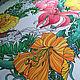 Shawls: Batik shawl 'Rainforest' silk 100%. Shawls1. Silk Batik Watercolor ..VikoBatik... My Livemaster. Фото №4