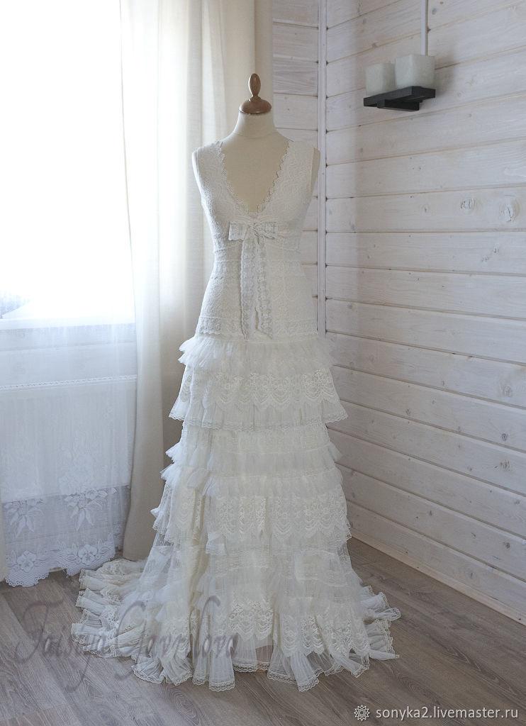 Бохо стиль. Свадебное платье, Платья, Санкт-Петербург,  Фото №1