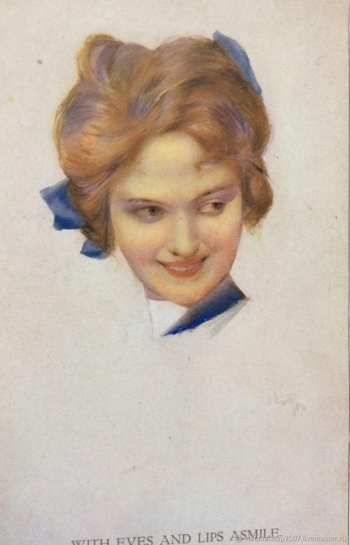 Цена открытки 1905 года, днем рождения дочери