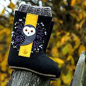 Обувь ручной работы handmade. Livemaster - original item Felt boots