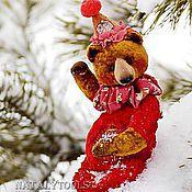Куклы и игрушки ручной работы. Ярмарка Мастеров - ручная работа МИШКА-тедди Ноэль. Noel bear. Handmade.