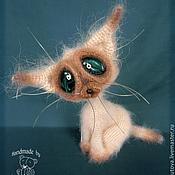 Куклы и игрушки ручной работы. Ярмарка Мастеров - ручная работа Сиамский кот. Handmade.