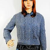 Одежда handmade. Livemaster - original item Knitted women`s jacket