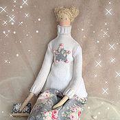 Куклы и игрушки ручной работы. Ярмарка Мастеров - ручная работа Тильда Зимняя куколка. Handmade.