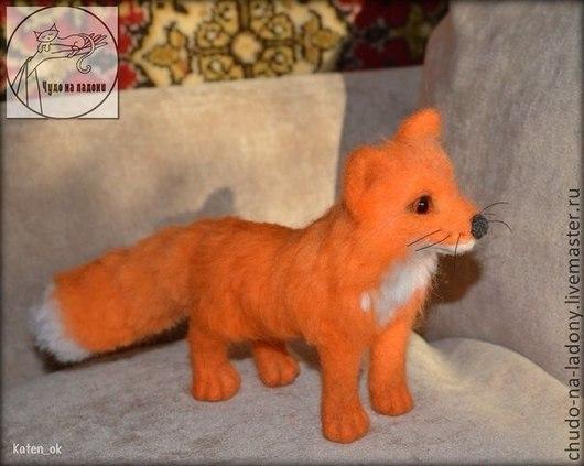 Игрушки животные, ручной работы. Ярмарка Мастеров - ручная работа. Купить Рыжий лис. Handmade. Рыжий, рыжий лис