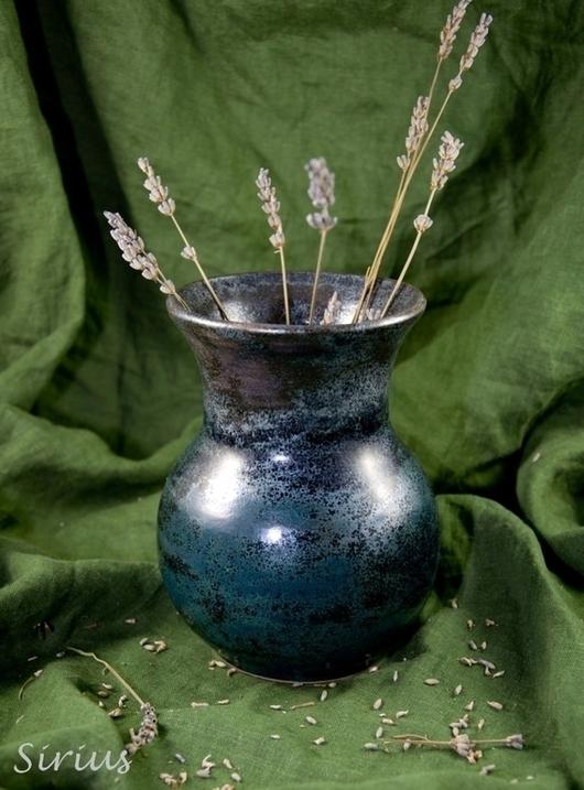 """Вазы ручной работы. Ярмарка Мастеров - ручная работа. Купить Ваза """"Античное серебро"""". Handmade. Ваза, ваза для сухоцветов"""