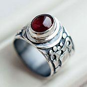 Украшения ручной работы. Ярмарка Мастеров - ручная работа Кольцо серебро ЛЕСНОЕ: серебряное кольцо из серебра. Handmade.