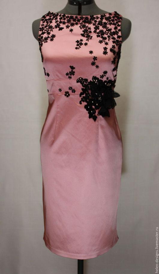 Платья ручной работы. Ярмарка Мастеров - ручная работа. Купить Элегантное дизайнерское платье. Handmade. Дизайнерское платье, платье на заказ