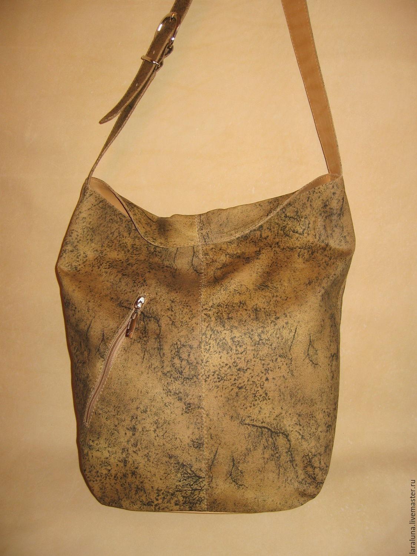 ae3e18ccb8d6 Женские сумки ручной работы. Ярмарка Мастеров - ручная работа. Купить  Кожаная сумка 'Торба ...