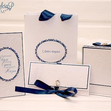 Свадебный салон ручной работы. Ярмарка Мастеров - ручная работа Подарочный комплект на свадьбу. Handmade.