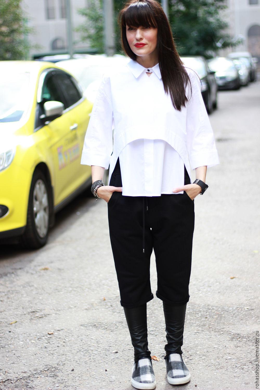 8ae5b388d68783d Свободный стиль,и комфорт R00088 Красивая и стильная рубашка свободного  кроя, из хлопка. Свободный стиль,и комфорт ...