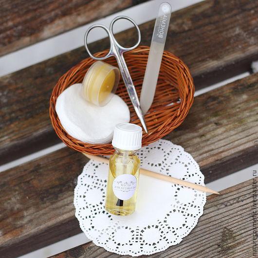 Масла и смеси ручной работы. Ярмарка Мастеров - ручная работа. Купить Масло для кутикулы. Handmade. Натуральная косметика, эфирное масло