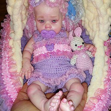 Куклы и игрушки ручной работы. Ярмарка Мастеров - ручная работа Силиконовая кукла Лили 25 см. Handmade.