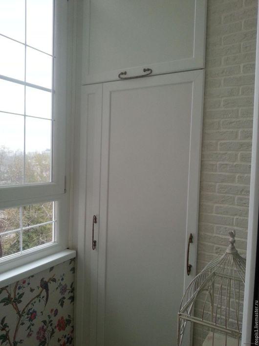 Встроенный шкаф для балкона на заказ