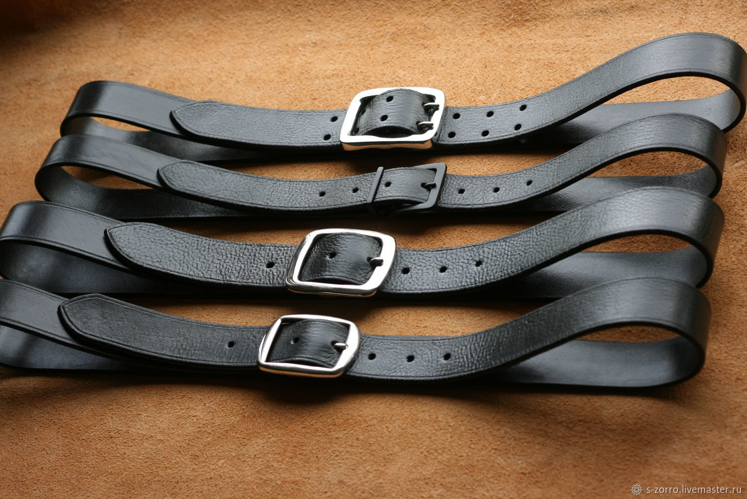 Belt waist leather, Straps, Moscow,  Фото №1