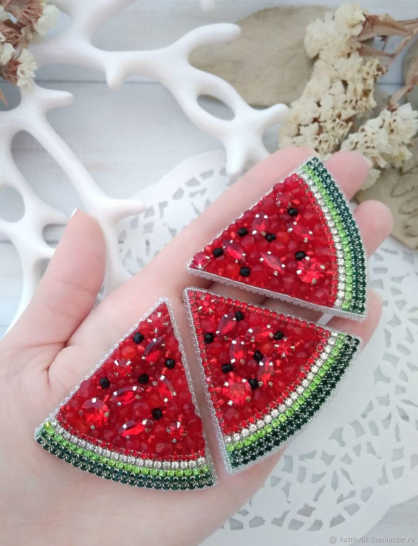 Brooch 'Watermelon', Brooches, Poltava,  Фото №1