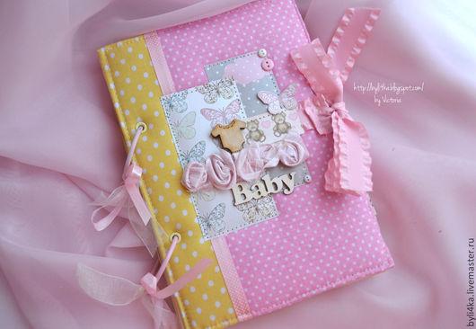 Фотоальбомы ручной работы. Ярмарка Мастеров - ручная работа. Купить Альбом для маленької принцеси. Handmade. Бледно-розовый, нежно-розовый