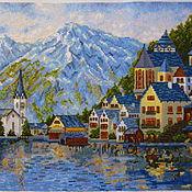 Картины и панно ручной работы. Ярмарка Мастеров - ручная работа Женевское озеро. Handmade.
