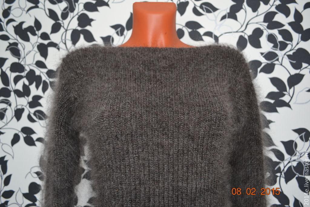 Пуховый свитер женский доставка