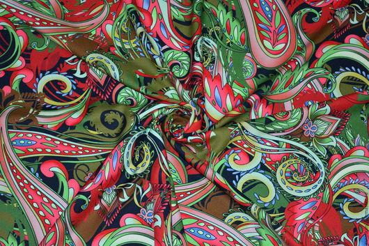Шитье ручной работы. Ярмарка Мастеров - ручная работа. Купить Вискоза  креповая ETRO. Handmade. Коллекционный, именная ткань, красота