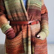 Одежда ручной работы. Ярмарка Мастеров - ручная работа Кардиган Лесная Палитра. Handmade.
