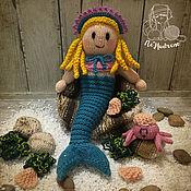 Куклы и игрушки ручной работы. Ярмарка Мастеров - ручная работа Русалочка. Handmade.