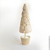 """Подарки к праздникам ручной работы. Ярмарка Мастеров - ручная работа Новогодняя елочка """"Кофе со сливками"""". Handmade."""