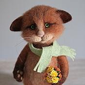 Куклы и игрушки ручной работы. Ярмарка Мастеров - ручная работа Кот Йода. Handmade.