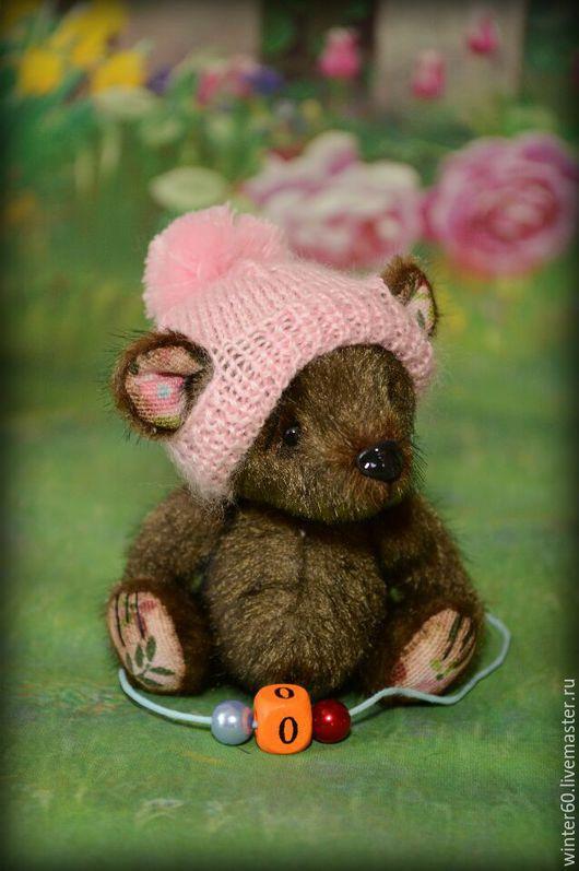 Мишки Тедди ручной работы. Ярмарка Мастеров - ручная работа. Купить Медвежонок Манюша. Handmade. Медвежонок, мех для миниатюры