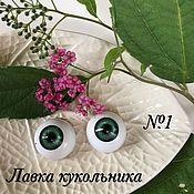 Материалы для творчества ручной работы. Ярмарка Мастеров - ручная работа Скидка! Глаза для кукол 20мм. Handmade.
