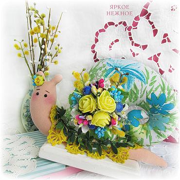 "Улитка Тильда ""Весна"""