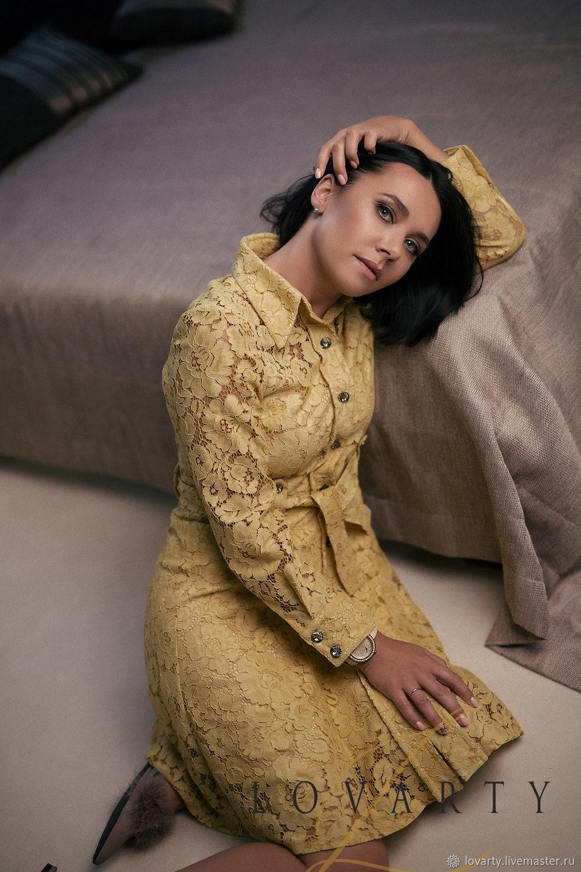 Купить Желтое Платье