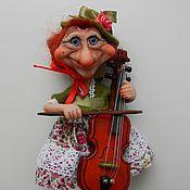 Куклы и игрушки ручной работы. Ярмарка Мастеров - ручная работа В джазе только девушки. Handmade.