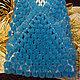 Пледы и одеяла ручной работы. Ярмарка Мастеров - ручная работа. Купить Плед из помпонов синий. Handmade. Синий, плед для малыша