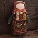 """Народные куклы ручной работы. Ярмарка Мастеров - ручная работа. Купить Куколка-мамушка народная русская """"Осенний урожай"""". Handmade."""