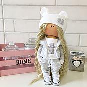 Тильда Зверята ручной работы. Ярмарка Мастеров - ручная работа Интерьерная кукла. Handmade.